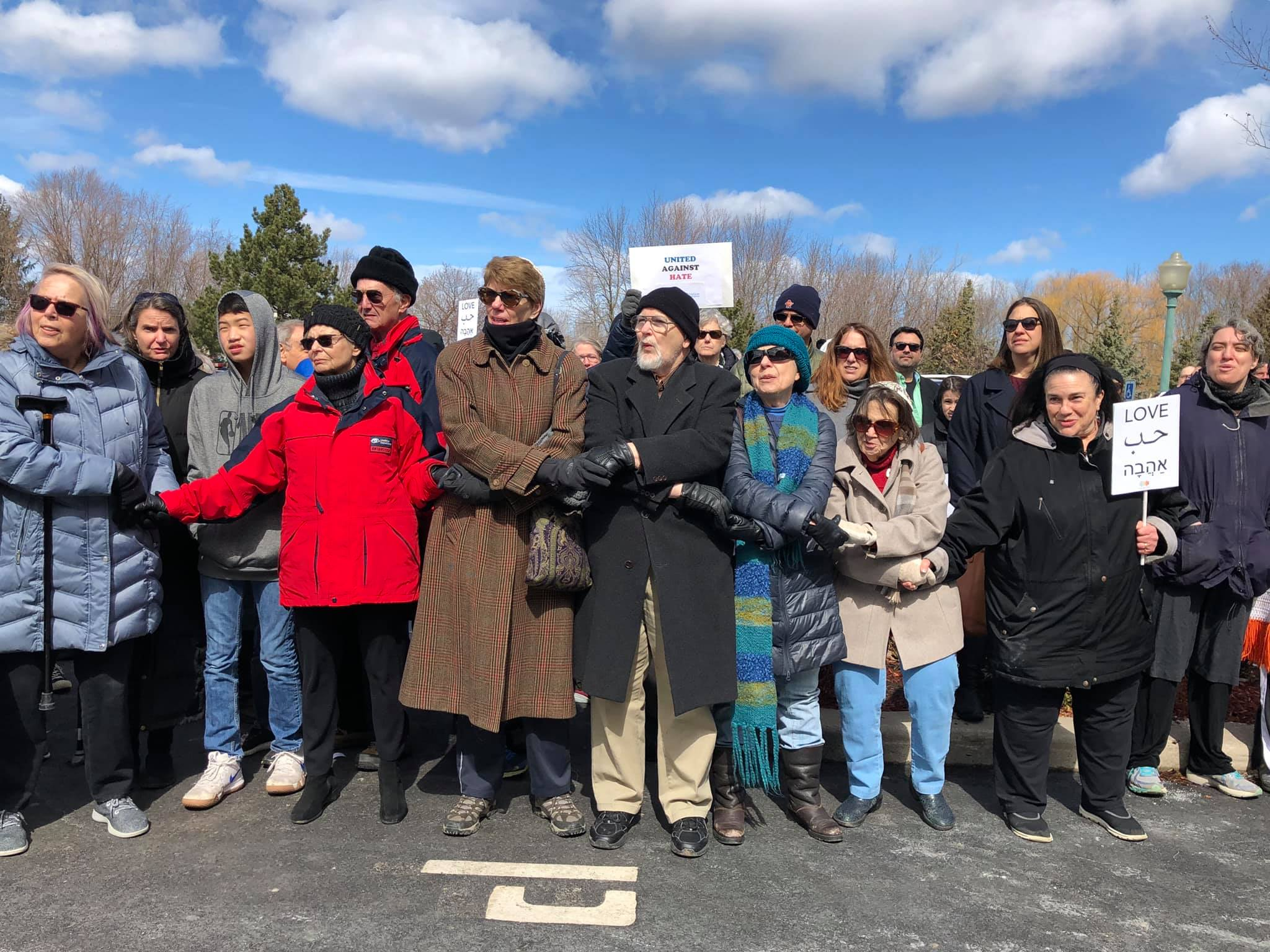 Rochester community stands with Muslims
